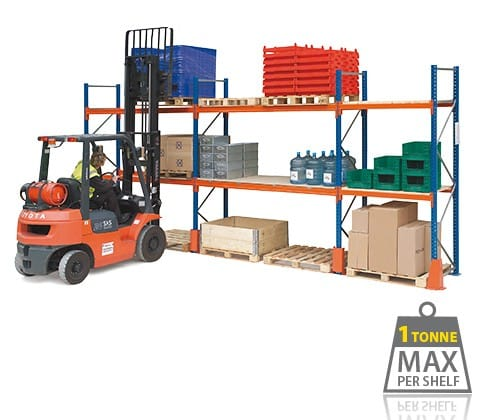 Pallet Racking Complete Systems - 16 Pallets