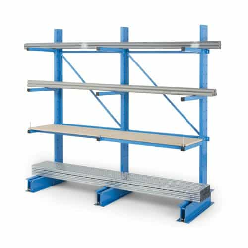Medium Duty Cantilever Racking Double Sided