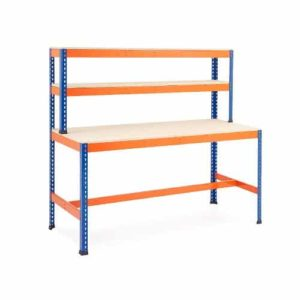 Heavy Duty Work Station - T Bar Support