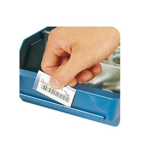 Component Storage Bin Labels And Label Holders