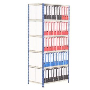 Medium Duty Shelving Lever Arch File Bay - Double Sided For 100 x A4 files