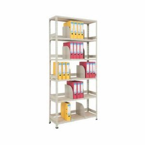 Medium Duty Office Shelving with Back/Side Stops & Dividers