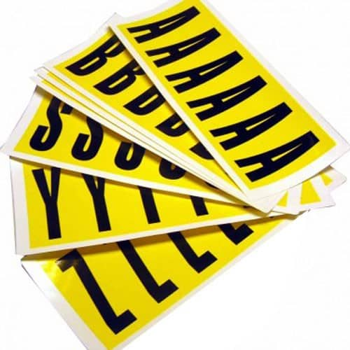 Self Adhesive Letters - 90mm high